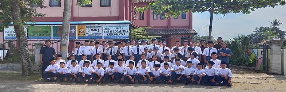 New Normal, SMP IT Logaritma masuk Sekolah