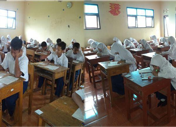 Sebagai evaluasi pembelajaran, SMPIT Logaritma Karanganyar Gelar UKK